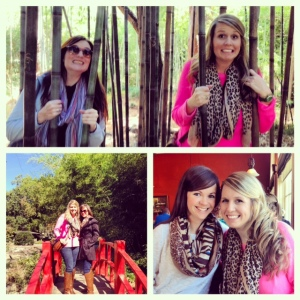 botanical gardens with corrie and chrystal